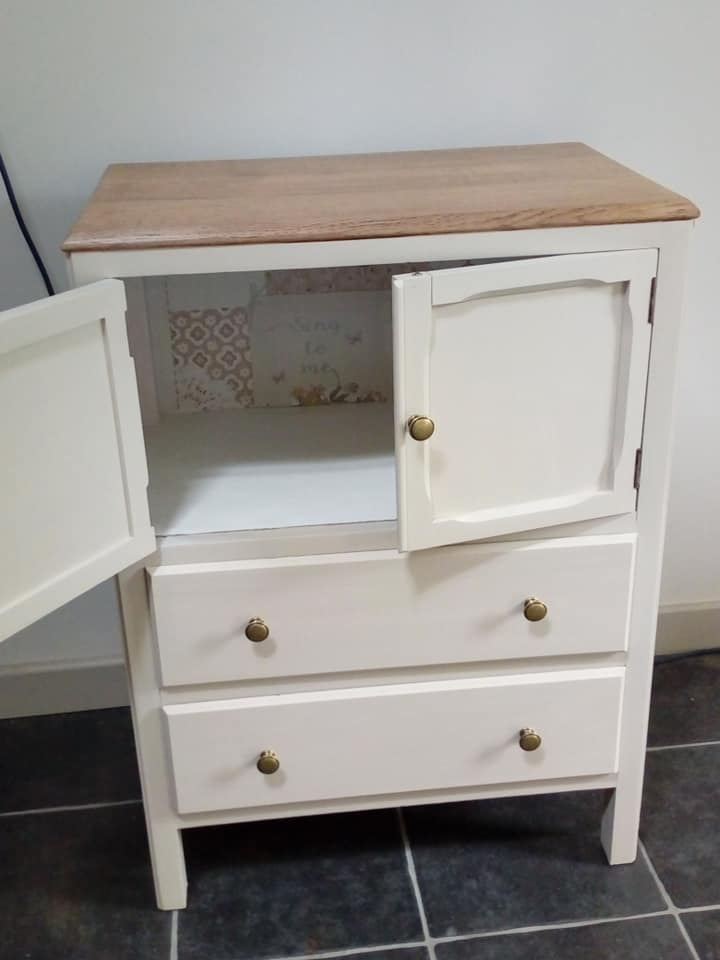 Amazing cupboard makeover
