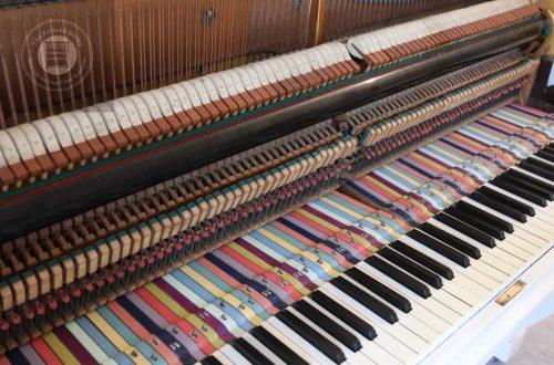 Painted Piano Rods