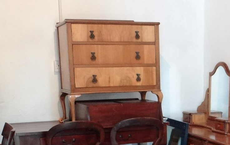 Original photo chest of drawers