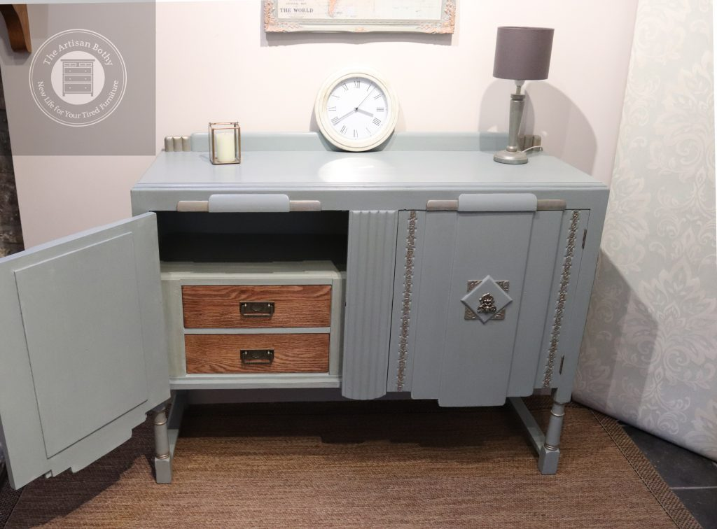 Flipped art deco sideboard