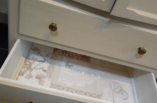 Arthouse wallpaper drawers
