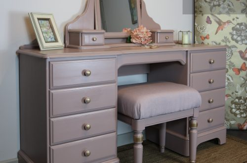 Ducal Pine Dressing Table Painted