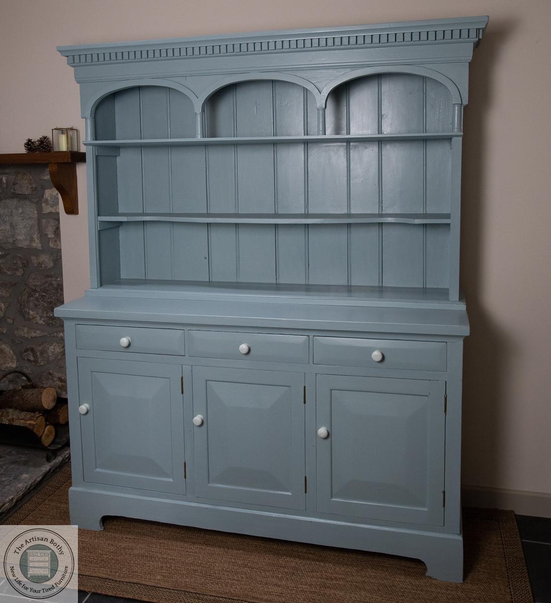 A painted welsh dresser